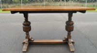 Quality Oak Refectory Dining Table